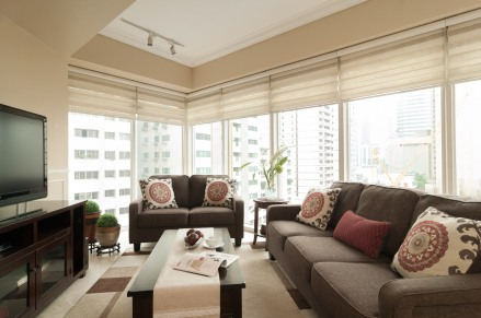 Living Area. Photograph courtesy of Johann Guasch