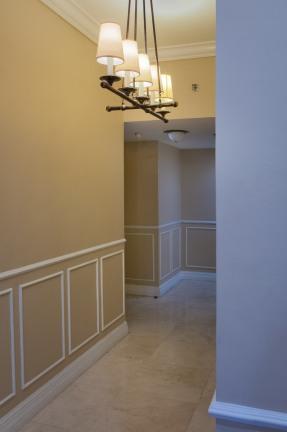 Hallway. Photograph courtesy of Johann Guasch